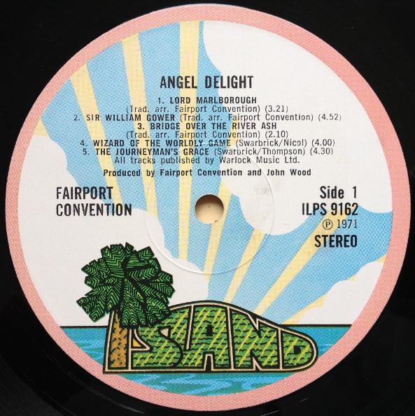 Fairport Convention Angel Delight Vinyl