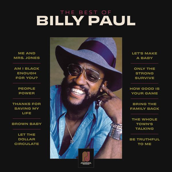Billy Paul The Best Of Billy Paul Vinyl