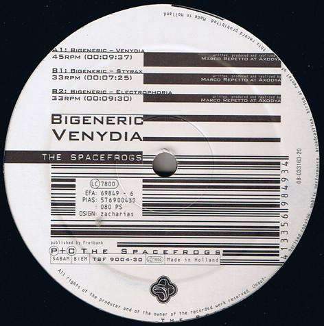 Bigeneric Venydia Vinyl