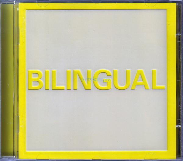 Pet Shop Boys Bilingual CD