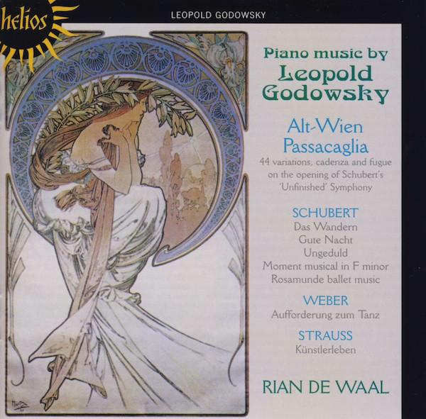 Leopold Godowsky, Rian De Waal Piano Music By Leopold Godowsky Vinyl