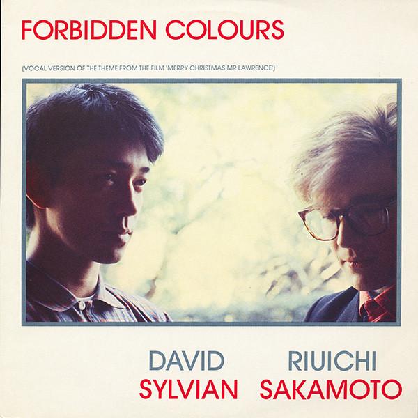 David Sylvian, Ryuichi Sakamoto Forbidden COlours Vinyl