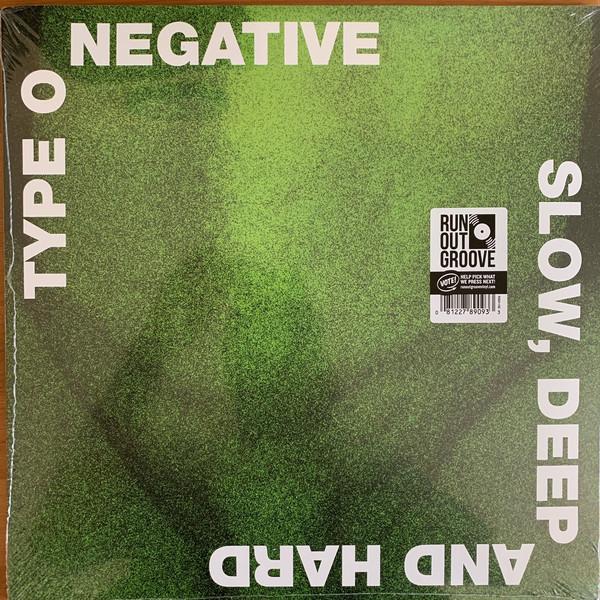 Type O Negative Slow, Deep And Hard Vinyl