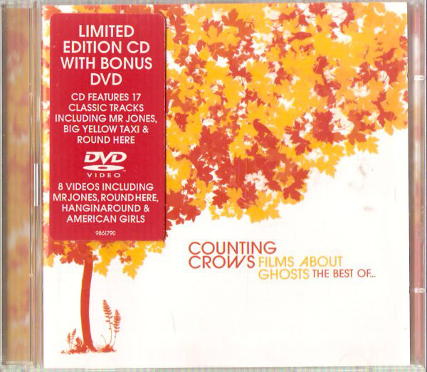 Counting Crows Films About Ghosts - The Best Of CD