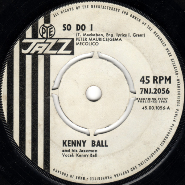Ball, Kenny So Do I Vinyl