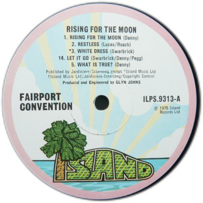 Fairport Convention Rising For The Moon Vinyl