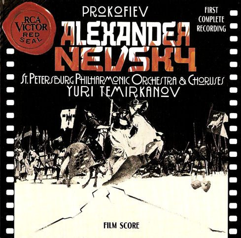 Prokofiev - St. Petersburg Philharmonic Orchestra, Yuri Temirkanov Alexander Nevsky
