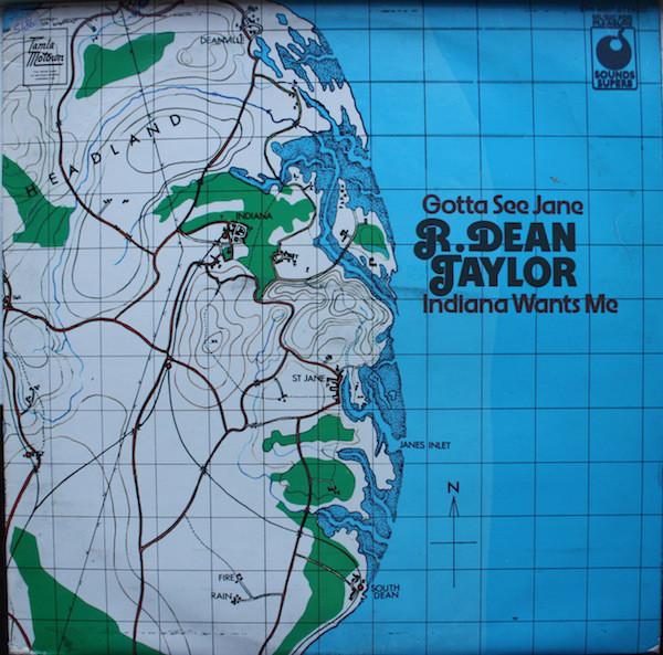 R. Dean Taylor Indiana Wants Me Vinyl