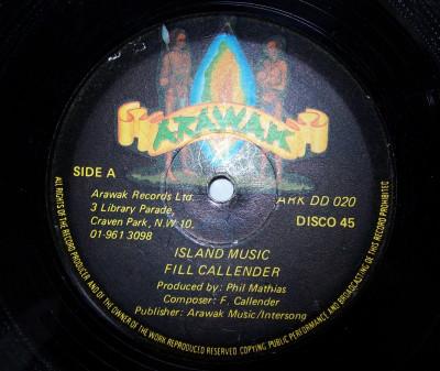 Fill Calender Island Music / It's Late Vinyl