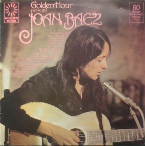 Baez, Joan Golden Hour Presents Joan Baez Vinyl