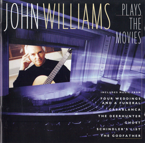 John Williams John Williams Plays The Movies CD