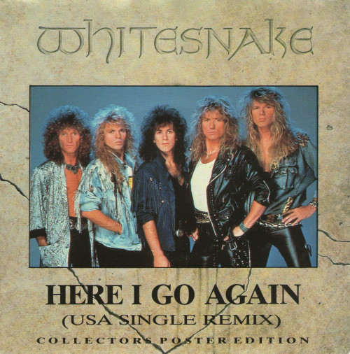 Whitesnake Here I Go Again (USA Remix)