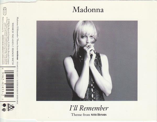 Madonna I'll Remember
