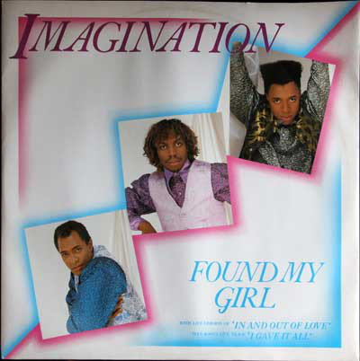 Imagination Found My Girl Vinyl
