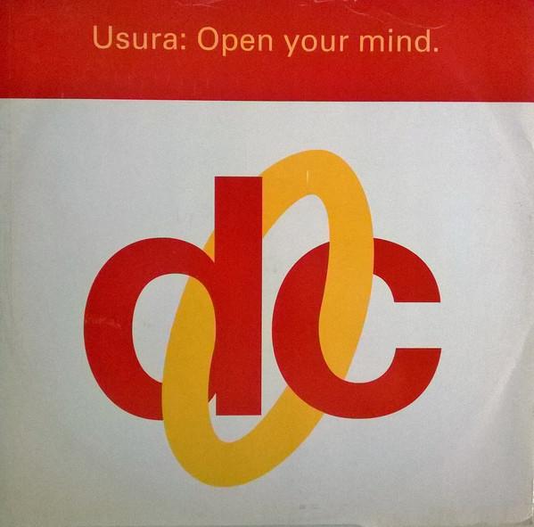 Usura Open Your Mind Vinyl