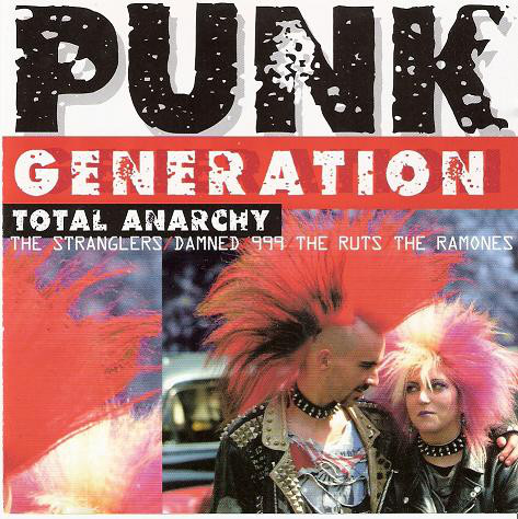 Various Punk Generation / Total Anarchy