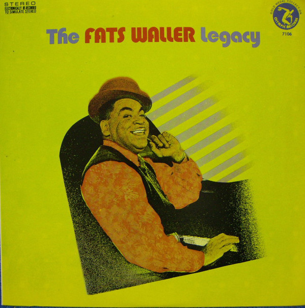Waller, Fats The Fats Waller Legacy Vinyl