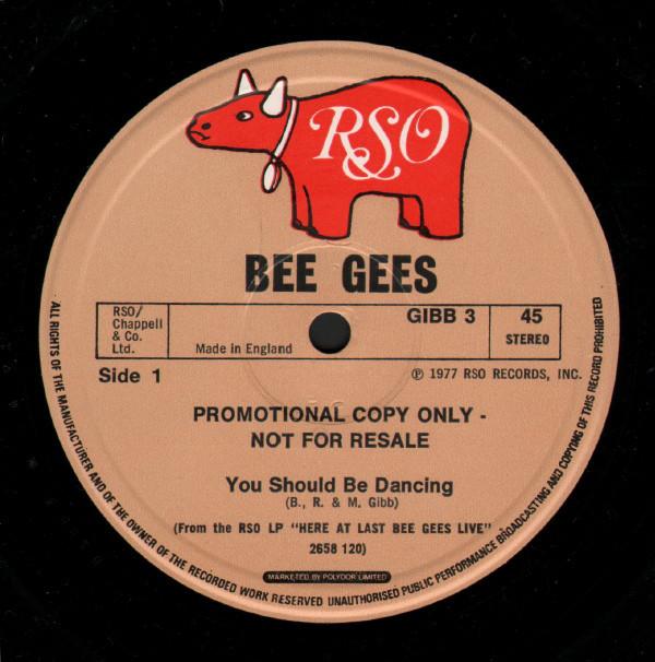 Bee Gees You Should Be Dancing Vinyl