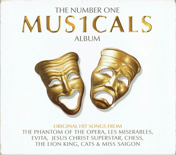 Various The Number One Mus1cals Album CD