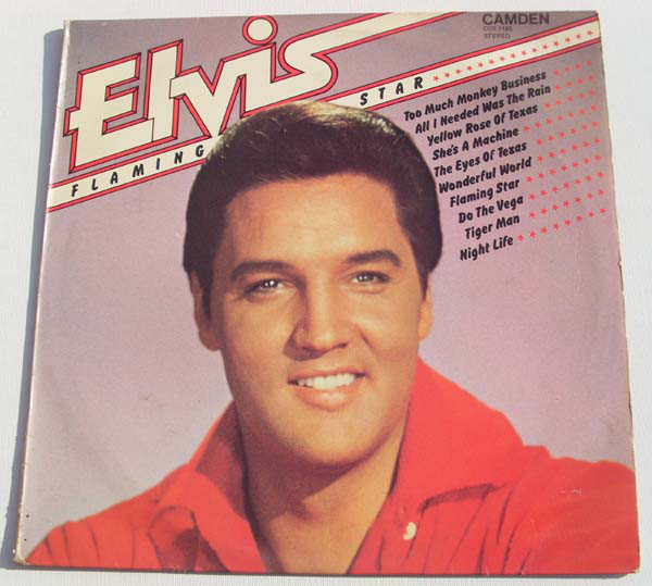 Presley, Elvis Flaming Star Vinyl