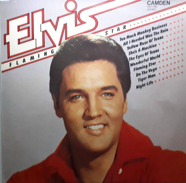 Presley, Elvis Flaming Star Vinyl