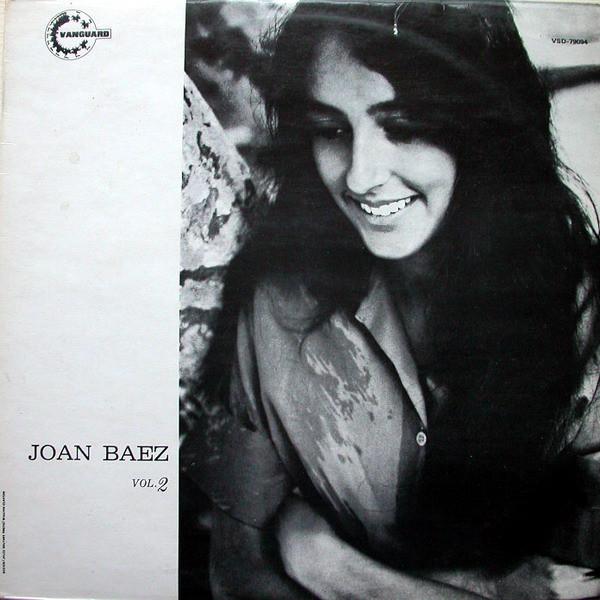 Baez, Joan Joan Baez Volume 2 Vinyl