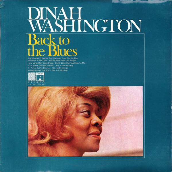 Washington, Dinah Back To The Blues Vinyl