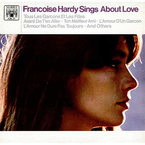 Hardy, Francois Francois Hardy Sings About Love Vinyl