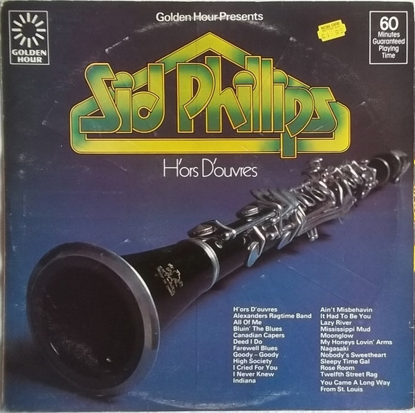 Phillips, Sid H'Ors D'Ouvres Vinyl