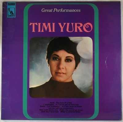 Yuro, Timi Great Performances