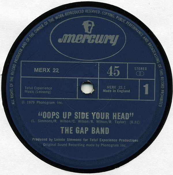 Gap Band (The) Oops Up Side Your Head