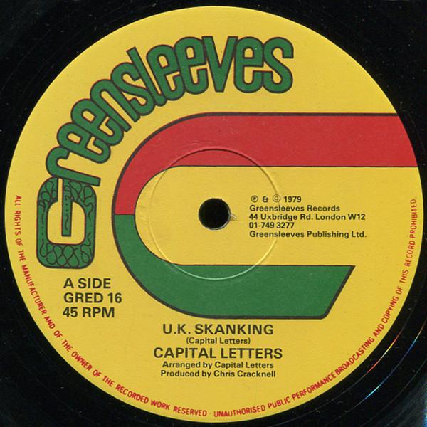 Capital Letters U.K. Skanking Vinyl