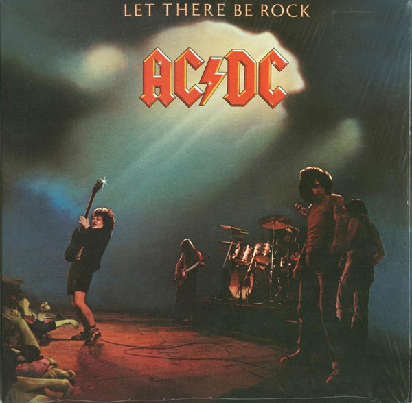 AC/DC Let There Be Rock Vinyl