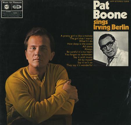 Boone, Pat Pat Boone Sings Irving Berlin