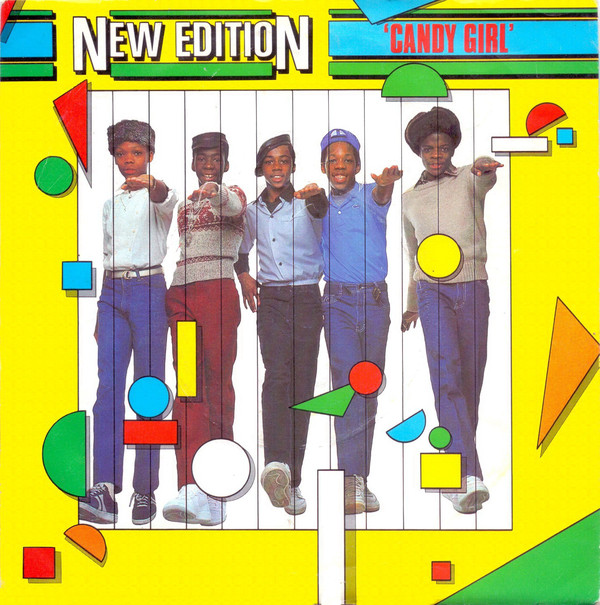 New Edition Candy Girl Vinyl