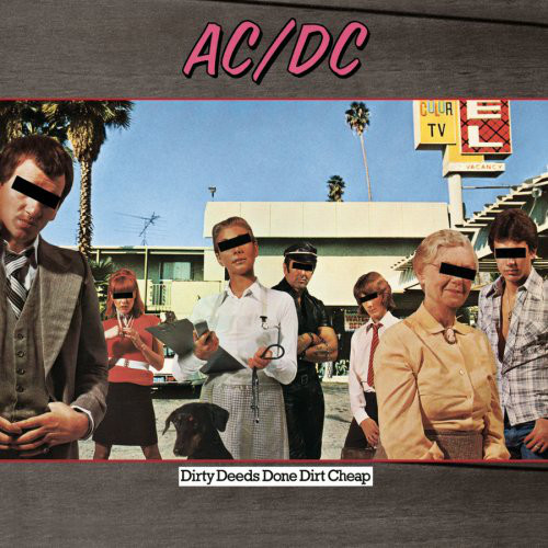 AC/DC Dirty Deeds Done Cheap Vinyl