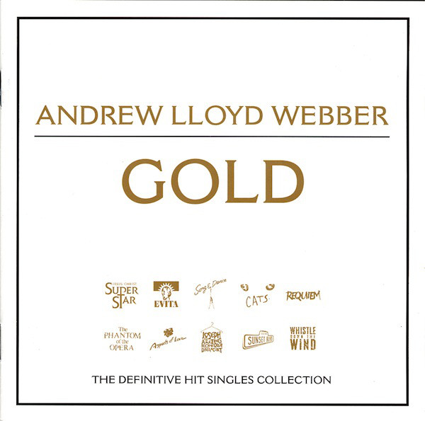 Webber, Andrew Lloyd Gold - The Definitive Hit Singles Collection Vinyl