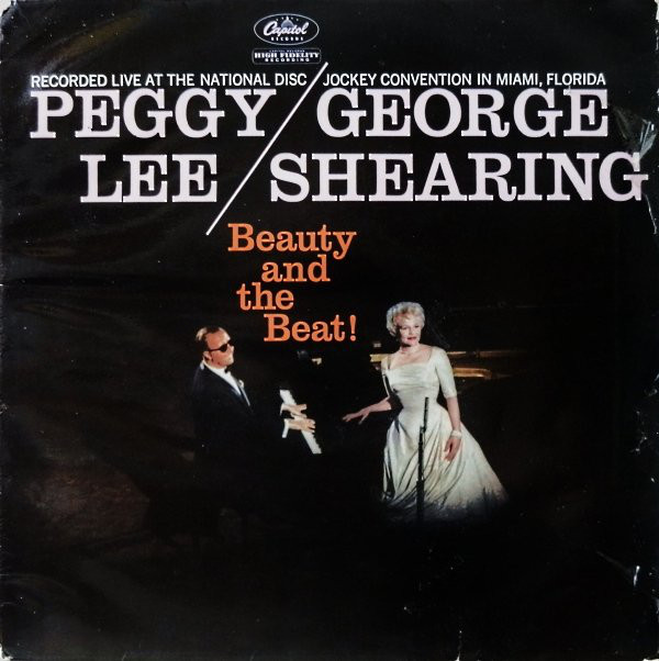 Peggy Lee / George Shearing Beauty And The Beat! Vinyl
