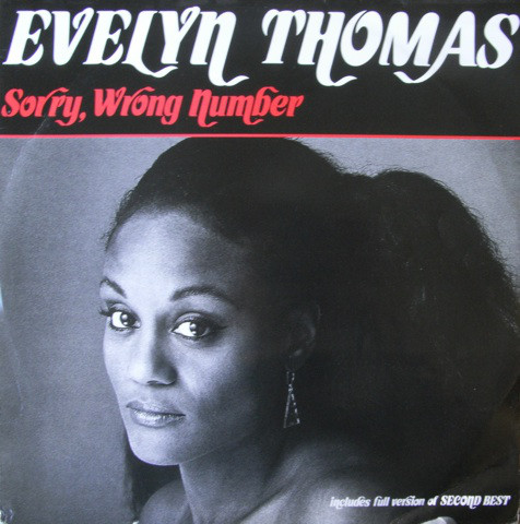 Thomas, Evelyn Sorry, Wrong Number Vinyl