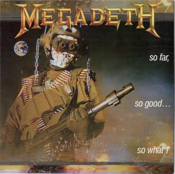 Megadeth So Far, So Good... So What! Vinyl