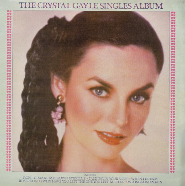 Gayle, Crystal The Crystal Gayle Singles Album Vinyl