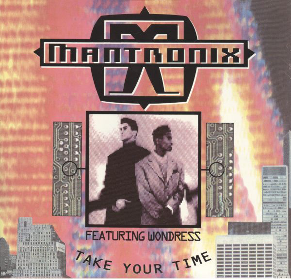 Mantronix Take Your Time Vinyl