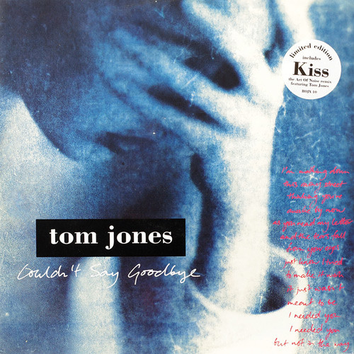 Jones, Tom Couldn't Say Goodbye