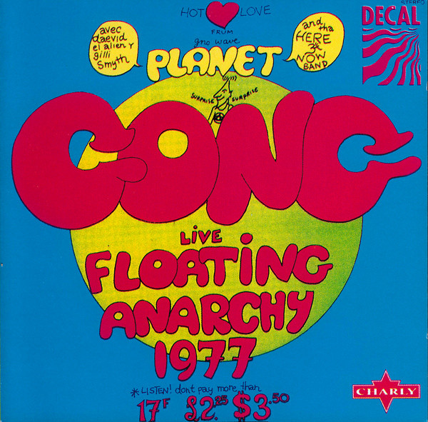 Gong Live Floating Anarchy 1977