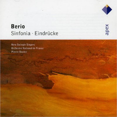 Berio - New Swingle Singers, Orchestre National De France, Pierre Boulez Sinfonia - Eindrücke
