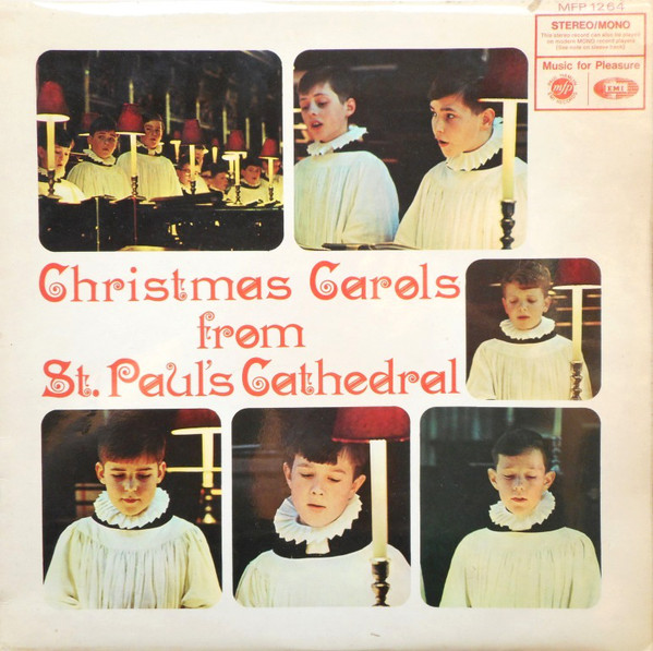 St. Paul's Cathedral Choir Christmas Carols From St. Paul's Cathedral Vinyl