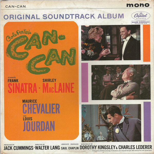 Various Cole Porter's Can-Can: Original Soundtrack Album Vinyl