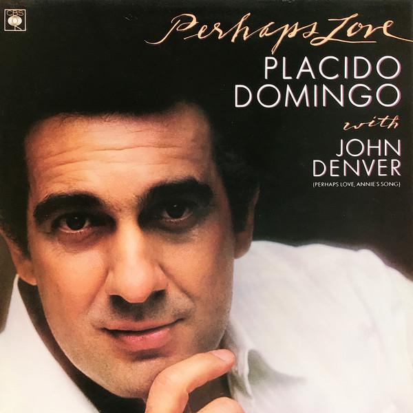 Placido Domingo with John Denver Perhaps Love Vinyl