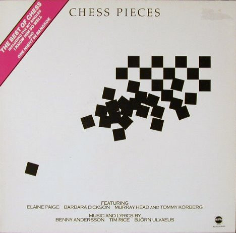 Elaine Page Murray Head Chess Pieces - The Best Of Chess