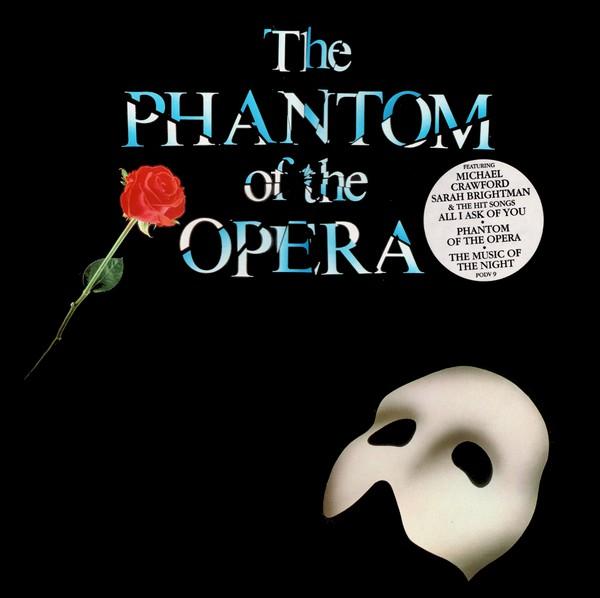 Andrew Lloyd Webber The Phantom Of The Opera Vinyl